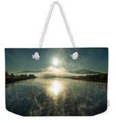 Sun O'er Missouri River Weekender Tote Bag