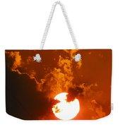 Sun On Fire Weekender Tote Bag