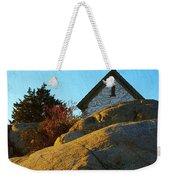 Sun On Granite Weekender Tote Bag