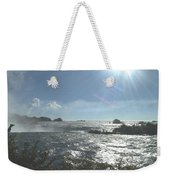 Sun On The Falls Weekender Tote Bag