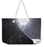 Sun Over Barbed Wire Weekender Tote Bag