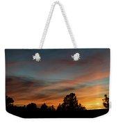 Sun Pillar Sunset Weekender Tote Bag