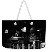 Sun Ra Arkestra At The Red Garter 1970 Nyc 14 Weekender Tote Bag
