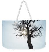 Sun Rays And Bare Lonely Tree Weekender Tote Bag