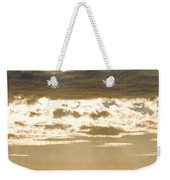 Sun Rays And Clouds Over Santa Cruz Weekender Tote Bag