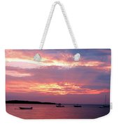 Sun Rays Through The Clouds Weekender Tote Bag
