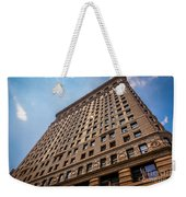 Sun Reflection On The Flatiron Building  Weekender Tote Bag