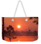 Sun Rise At Red Lake Grayton Beach State Park Florida Weekender Tote Bag