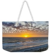 Sun Rising Over Atlantic Weekender Tote Bag