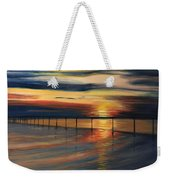 Sun Set At Seabridge Weekender Tote Bag