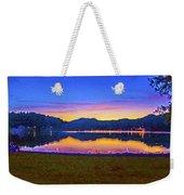 Sun Set On Lake Lure Weekender Tote Bag
