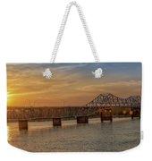 Sun Set Shoals2 Weekender Tote Bag