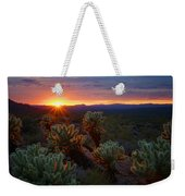 Sun Sets Over The Sonoran  Weekender Tote Bag