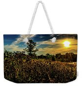 Sun Setting At Valley Forge Weekender Tote Bag