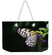 Sun Shining Through The Wings Of A Rice Paper Butterfly Weekender Tote Bag