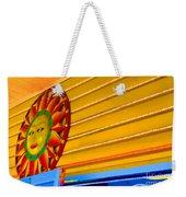 Sun Shopping Weekender Tote Bag