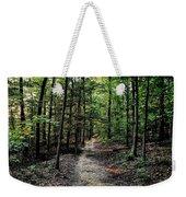 Sun Streaked Path  Weekender Tote Bag