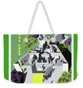 Sun Trap Section Perspective Weekender Tote Bag