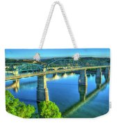 Sun Up Reflections Chattanooga Tennessee Weekender Tote Bag