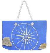 Sun Wheel Weekender Tote Bag