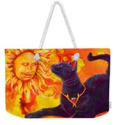 Sun Worshiper Weekender Tote Bag