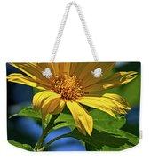 Sun Yellow Weekender Tote Bag