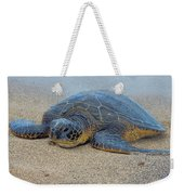 Sunbathing Honu Weekender Tote Bag
