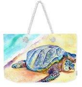 Sunbathing Turtle Weekender Tote Bag