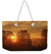 Sunbeam Through Cottonwoods Weekender Tote Bag
