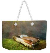 Sunbeams On A Classic Cadillac Weekender Tote Bag
