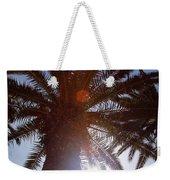 Sunbeams Through The Palms Weekender Tote Bag