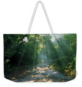 Sunbeams Through Trees Weekender Tote Bag