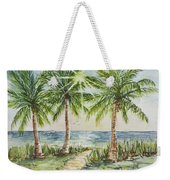 Sunburst Beach Morning Weekender Tote Bag