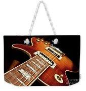 Sunburst Electric Guitar Weekender Tote Bag