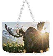 Sunburst In The Antlers Weekender Tote Bag