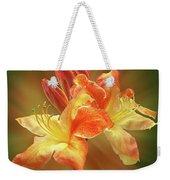 Sunburst Orange Azalea Weekender Tote Bag