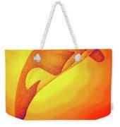 Sunburst Orca Weekender Tote Bag