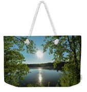 Sunburst Over The Reservoir Weekender Tote Bag