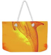 Sunburst Porpoise Weekender Tote Bag