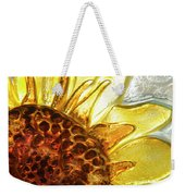 Sunburst Sunflower Weekender Tote Bag