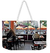Sunday Afternoon At Dunkin Donuts Weekender Tote Bag