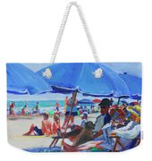 Sunday Beach Blues Weekender Tote Bag
