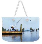 Sunday Fisherman Weekender Tote Bag
