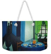 Sunday Morning Breakfast Weekender Tote Bag