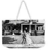 Sunday Morning Two Weekender Tote Bag