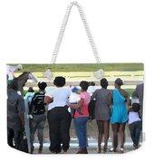 Sunday Race Impressions Weekender Tote Bag