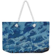 Sunday Sunrise Cumulus Floccus Weekender Tote Bag