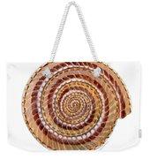 Sundial Shell Weekender Tote Bag