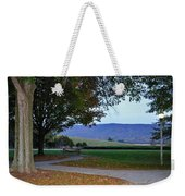 Sundown At Blue Ridge Weekender Tote Bag