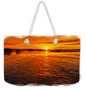 Sundown At Low Tide 2 Weekender Tote Bag